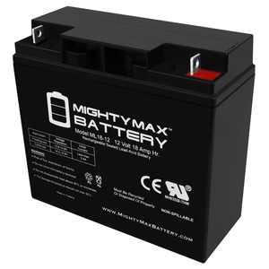 12V 18AH SLA Battery Replacement for Cen-tech 4-in-1 Jump Starter