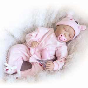 """Ktaxon 22"""" Cute Silicone Reborn Newborn Baby dolls"""