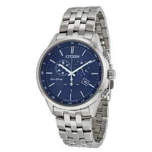 Citizen Sapphire Collection Eco-Drive Chronograph Blue Dial Men's Watch AT2141-52L