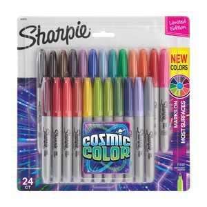 Sharpie Cosmic Colors Marker Sets, 24-Markers, Fine