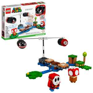 LEGO Super Mario Boomer Bill Barrage Expansion Set 71366 Creative Building Toy for Kids (132 Pieces)