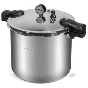 Barton Canner Pressure Cooker Pressure Cooker 22-Quart Capacity, Polished Aluminum