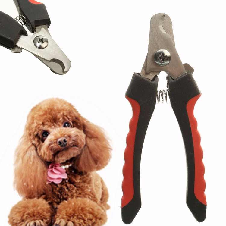 Stainless Steel Cat Dog Pet Nail Claw Toe Clippers Trimmers Cutter Grooming Tool