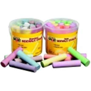 Non-Toxic Sidewalk Chalk, Pack - 20