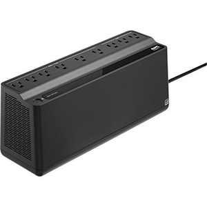 APC UPS Battery Backup & Surge Protector, 900VA APC Back-UPS (BN900M) - AC 120 V - 480 Watt