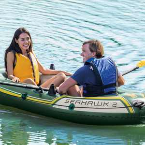 """Intex Seahawk 2 Two-Person Inflatable Boat, 93"""" x 45"""" x 16"""""""