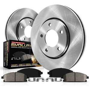 Power Stop Front Stock Replacement Brake Pad and Rotor Kit KOE1437