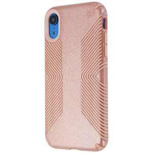 Speck Presidio Grip + Glitter Case for Apple iPhone XR - Pink/Gold Glitter