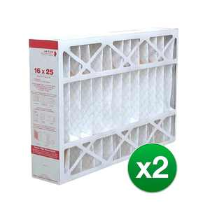 Replacement for Honeywell 16x25x4 AC Furnace Air Filter MERV 11 - 2 Pack