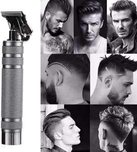 Electric Rechargeable Pro Li Outliner Grooming Cordless Close Cutting T-Blade Trimmer for Men 0mm Baldheaded Hair Clippers Zero Gapped Detail Beard Shaver Barbershop