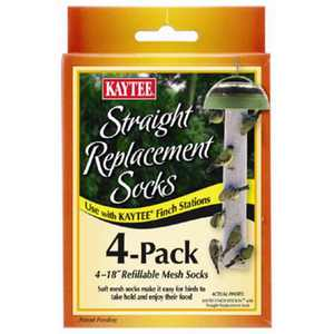 Kaytee Products 100501109 Replacement Finch Sock, 4 Count