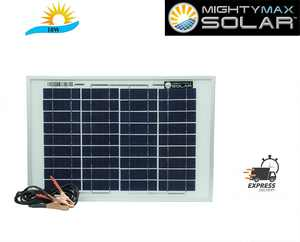 10 Watt Polycrystalline Solar Panel Charger Replacement for Mule FM123