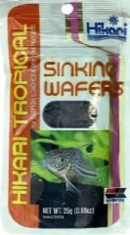 Sales Tropical Sinking Wafers .88 Ounces - 21503, Specifically developed for corydoras catfish, loaches and other bottom feeders. By HIKARI