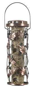 Perky-Pet 1 lb Copper Garden Wild Bird Feeder