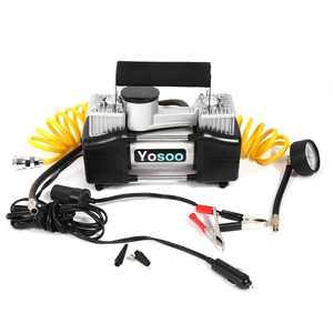 HURRISE New Heavy Duty 12V 150 PSI Air Compressor Pump Electric Car Van Tyre Inflator