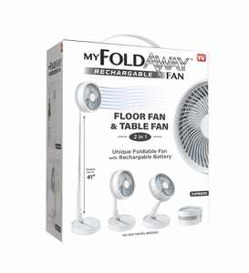 My FoldAway Rechargeable Fan