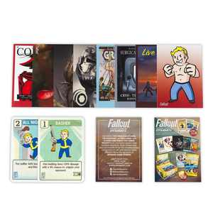 Dynamite Entertainment Fallout Trading Cards Series 2   Sealed Blister Pack   Contains 10 Random Cards