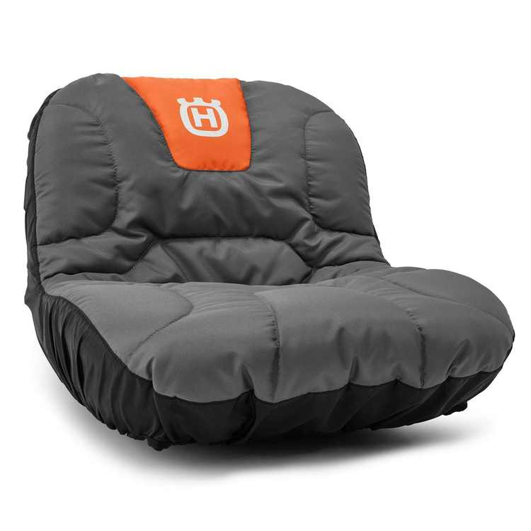 """Husqvarna Seat Cover w/ Gear Pockets for Tractors Genuine OEM / Fits All 15"""" Riding Tractor Seats / 588208701, 531308228"""