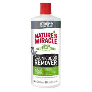 Natures Miracle Skunk Odor Remover Odor Neutralizing Formula, 32 fl oz