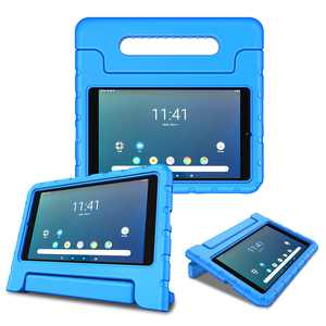 Fintie Case for Kids Compatible with Onn 8 Inch Android Tablet - Shock Proof Protective Light Weight Cover with Handle Stand, Blue