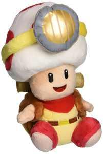 "Little Buddy LLC, Captain Toad Sitting 7"" Plush"