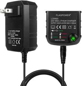 20V Lithium Battery Charger LCS1620 for BLACK&DECKER/PORTER-CABLE/STANLEY Power Supply