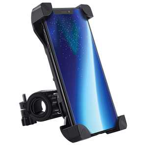 """Yoassi Bike Phone Mount Anti Shake & Stable Cell Phone Holder Cradle Clamp with 360 Rotation for Bicycle & Motorcycle Handlebar for iPhone Android GPS, Up to 3.5"""" Wide"""