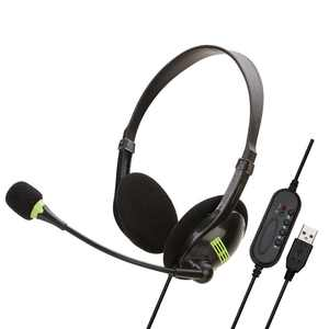 USB Wired Call Center Noise Cancelling Headphone Mute Headset with Microphone
