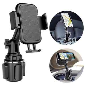 Car Cup Holder Phone Mount Cell Phone Holder Universal Adjustable Cup Holder Cradle Car Mount with Flexible Long Neck for iPhone 12 Pro/XR/XS Max/X/8/7 Plus/Samsung S10+/Note 9/S8 Plus/S7 Edg