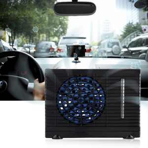 HAOFY Portable 12V Car Truck Home Mini Air Conditioner Evaporative Water Cooler Cooling Fan , Mini Air Conditioner, Car Cooling Fan