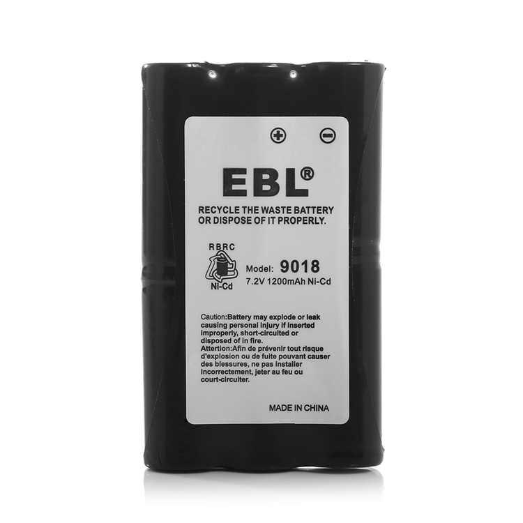 EBL 7.2V 1200mAh HNN9018 Replacement Battery for MOTOROLA Radius P10, Radius SP50 HNN9018 Two-Way Radio