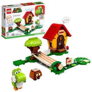LEGO Super Mario Mario's House & Yoshi Expansion Set 71367 Building Toy for Kids (205 Pieces)