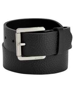 Knarled Buckle Leather Belt