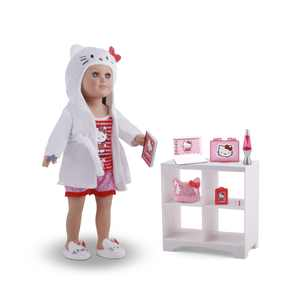 """My Life As, Hello Kitty Pajama Party Bundle, for 18"""" Dolls, 13 Pieces"""