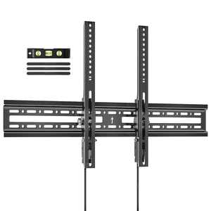 Wewdigi TV Wall Mount for Most 37-70 Inches LED LCD OLED TVs, Plasma Flat Screen TVs Tilting Mount Fits 16-24 Inch Wood Studs Max VESA 600x400mm Holds Up to 132lbs.