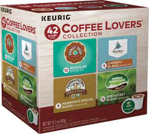 Keurig - Coffee Lovers Collection K-Cup Pods (42-Pack)