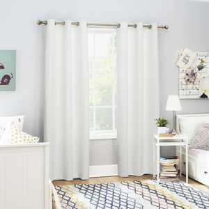 Sun Zero 2-pack Arlo Textured Thermal Insulated Grommet Curtain Panel Pair