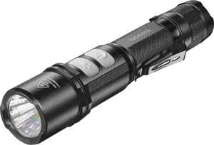 Insignia - 800 Lumen Rechargeable LED Flashlight - Black