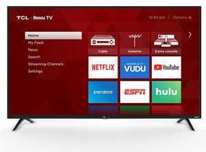 "TCL 32"" Class 720P HD LED Roku Smart TV 3 Series 32S321"