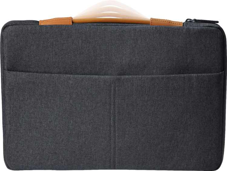 """HP - Laptop Sleeve for 15.6"""" Laptop - Charcoal gray"""