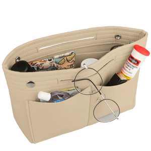 EEEkit Felt Purse Organizer Insert, Felt Bag organizer, Bag in Bag Organizer For Tote & Handbag Speedy Neverfull