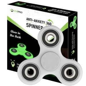 Zekpro Fidget Spinner - Hand Spinner Stress Relief Toy Aluminum Alloy Gadget