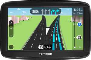 """TomTom - VIA 1525M 5"""" GPS with Lifetime Map Updates - Black"""