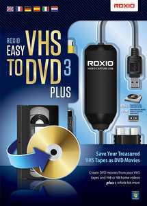 Roxio - Easy VHS to DVD 3 Plus - Windows