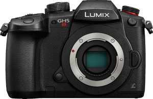 Panasonic - LUMIX GH5S Mirrorless 4K Photo Digital Camera (Body Only) - Black