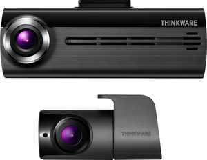 THINKWARE - F200D Front and Rear Camera Dash Cam - Gray/Black