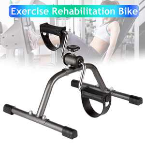 Pedal Exerciser Bike Portable Home Pedal Exerciser for Legs,Arms Workout Portable Compact Fitness Pedal Indoor Exercise Machine Bike