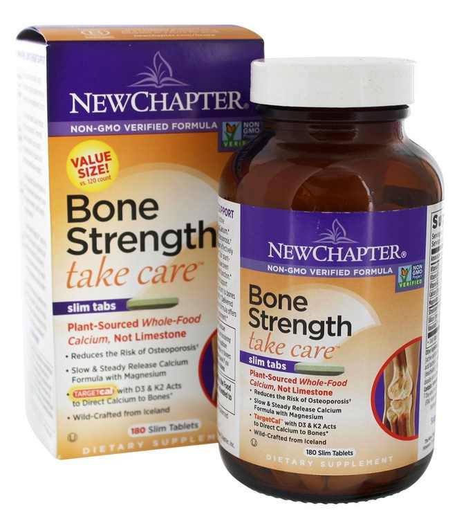 New Chapter - Bone Strength Take Care - 180 Slim Tablets