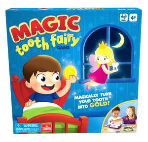 Goliath Magic Tooth Fairy Game - Magically Turn Your Tooth Into Gold - For Children Ages 4 and Up
