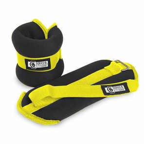 Pure Fitness 1Lb Adjustable Wirst or Ankle Weights (Set of 2)